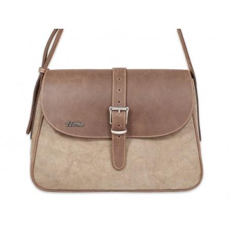 202aad6b0 bandolera classic piel kanwas genuine leather premium
