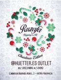 Market de Navidad en Ruzafa Shopping en la calle Buenos Aires 2 de Valencia durante diciembre de 2019